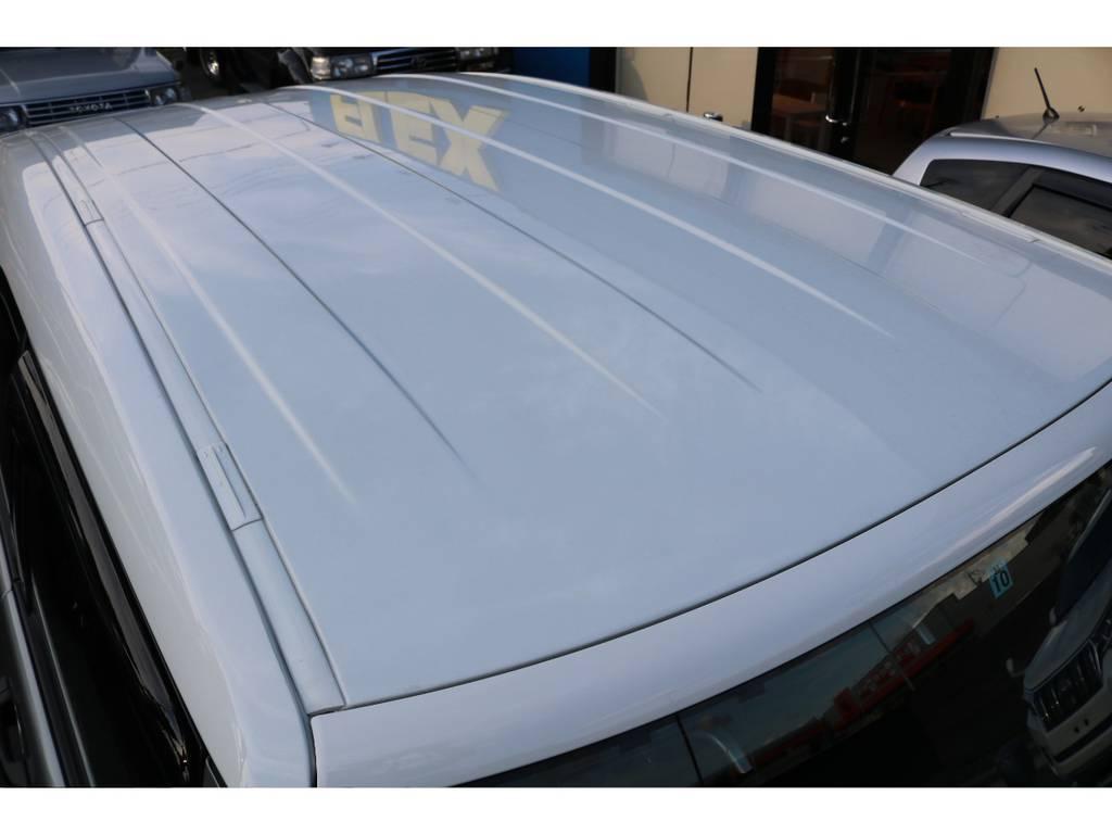 天井もご覧の通り綺麗な状態です! | トヨタ FJクルーザー 4.0 カラーパッケージ 4WD