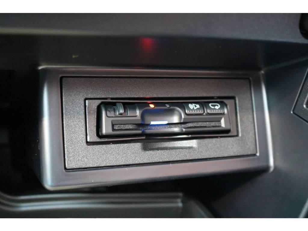 ETCも完備しておりますので、高速道路も楽々です! | トヨタ ランドクルーザープラド 2.8 TX ディーゼルターボ 4WD 7人