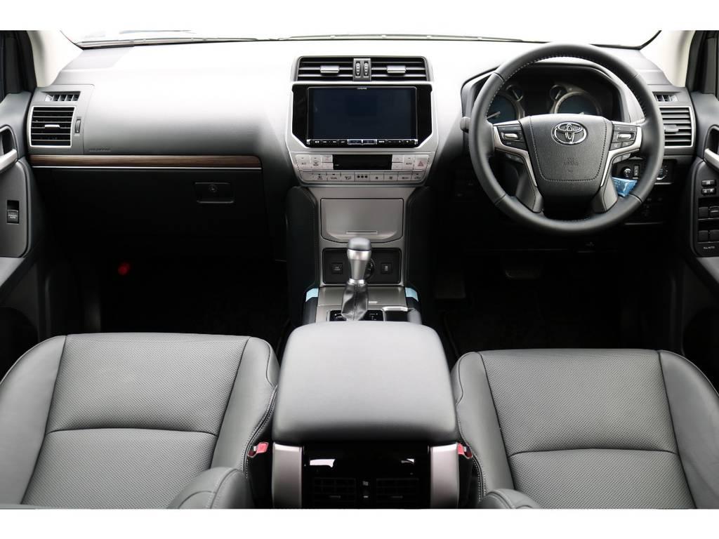 Lパッケージは、本革パワーシートにシートヒーター&ベンチレーション機能付きになります!高級感ありますね! | トヨタ ランドクルーザープラド 2.7 TX Lパッケージ 4WD 5人