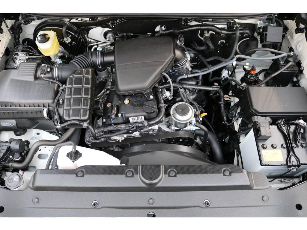 2700ccガソリンエンジンモデル!6速ATとの組み合わせです! | トヨタ ランドクルーザープラド 2.7 TX Lパッケージ 4WD 5人