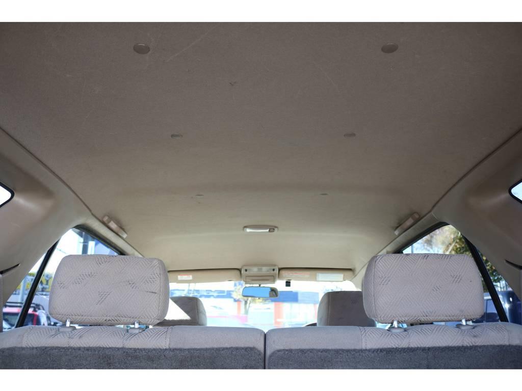 天張りもキレイなコンディションを維持しております!   トヨタ ハイラックスサーフ 2.7 SSR-G 4WD