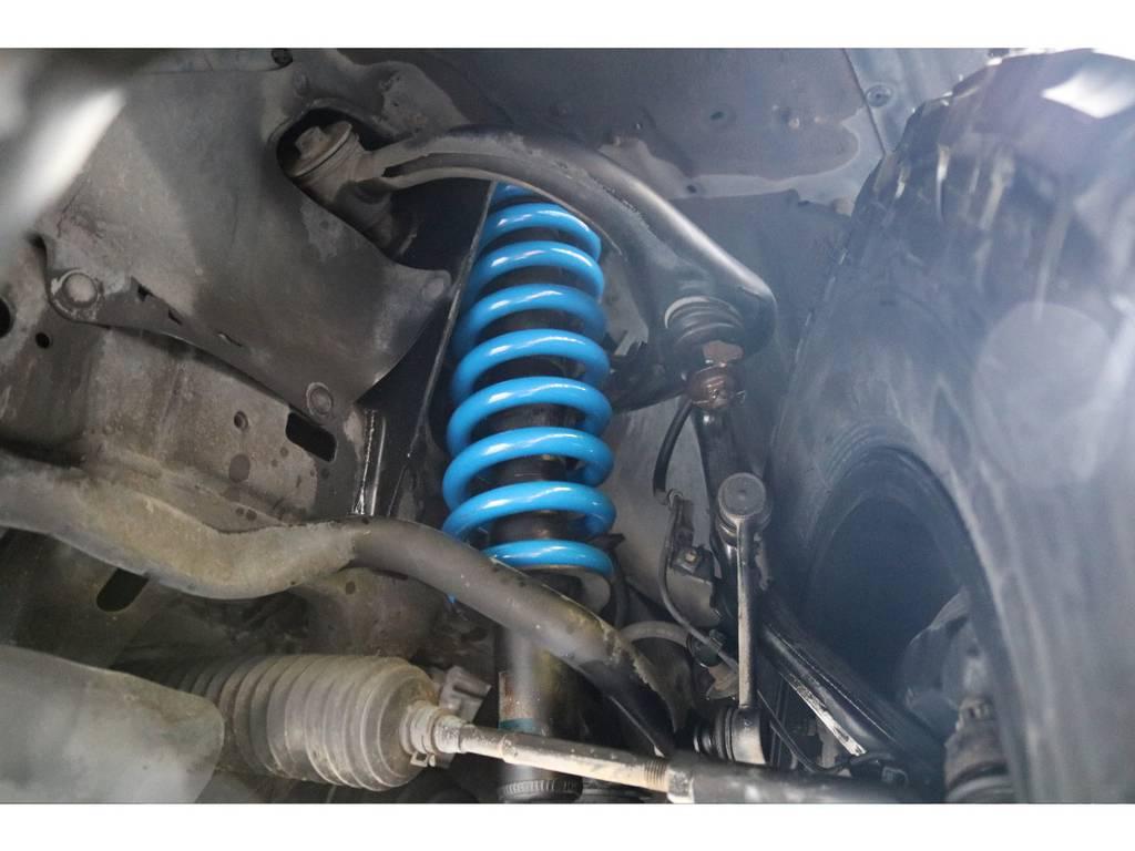 新品コイルスプリングで2インチリフトアップを当店にて施工致しました! | トヨタ ハイラックスサーフ 2.7 SSR-X 4WD