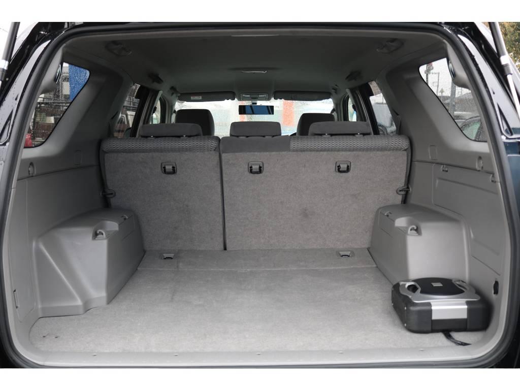 広大なラゲッジスペース!手荒に使われていなかった事が伺えます! | トヨタ ハイラックスサーフ 2.7 SSR-X 4WD