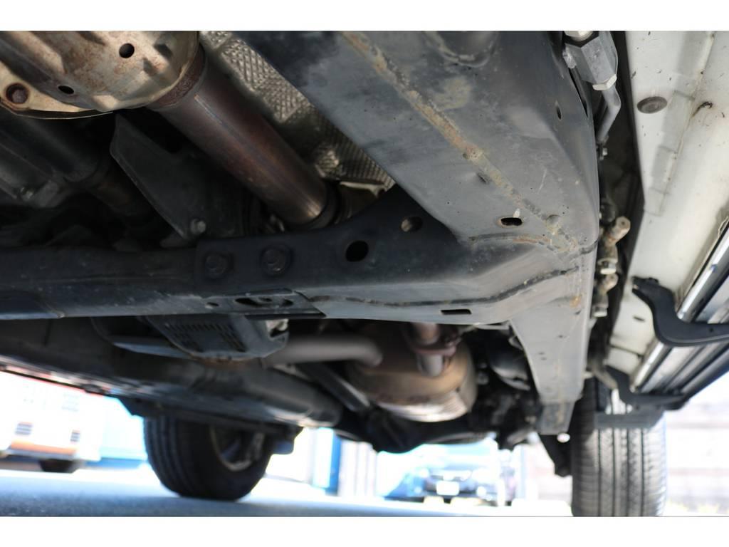 堅牢なラダーフレーム!ランクル200からはフロントコイル式&専用設計のフレームとなりました! | トヨタ ランドクルーザー200 4.7 AX Gセレクション 4WD