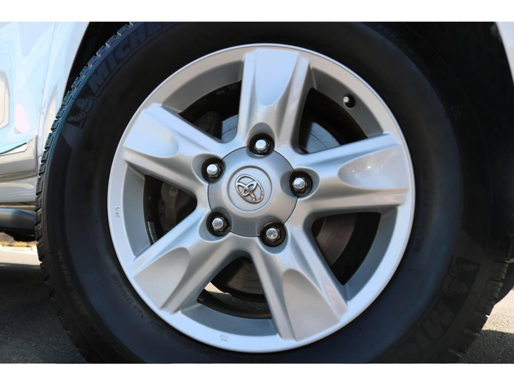 純正18インチAWもキレイなままです! | トヨタ ランドクルーザー200 4.7 AX Gセレクション 4WD