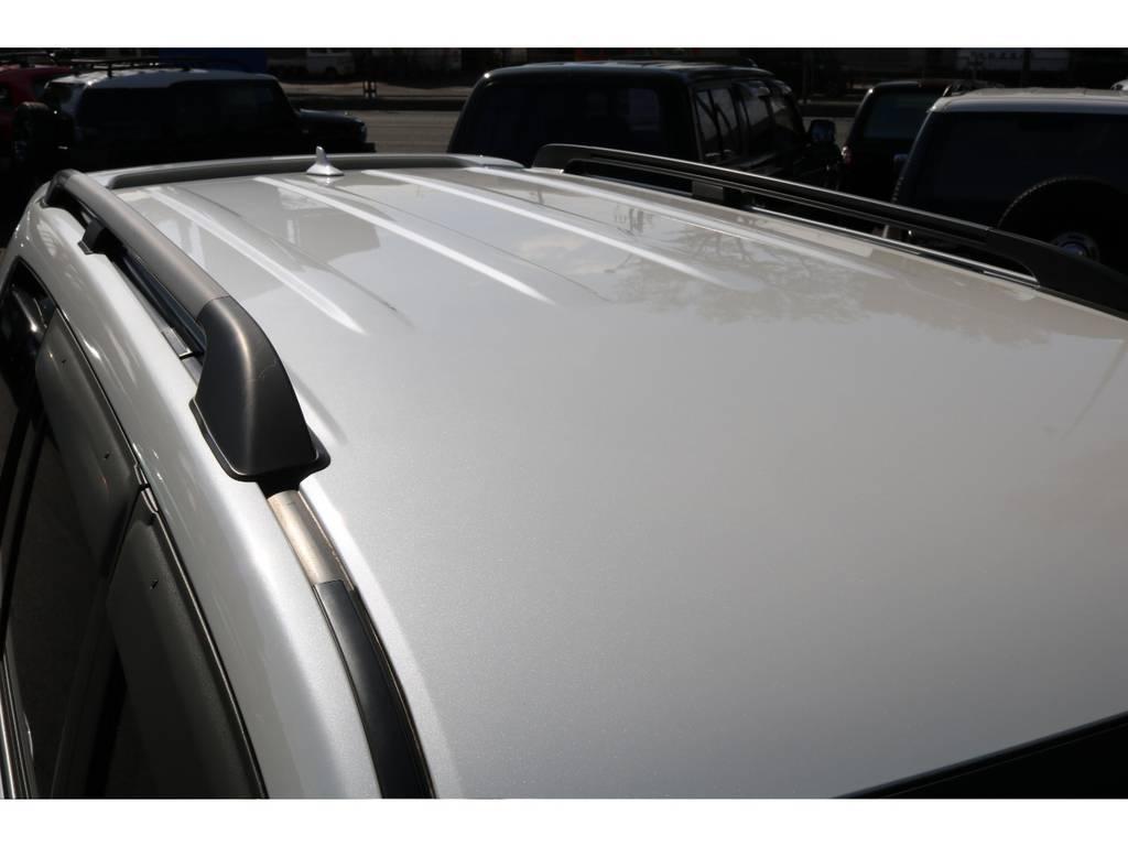 オプションのルーフレール装備!ルーフのコンディションもGOOD! | トヨタ ランドクルーザー200 4.7 AX Gセレクション 4WD
