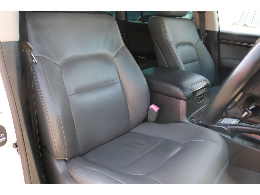 本革パワーシート!シートヒーターも完備しております! | トヨタ ランドクルーザー200 4.7 AX Gセレクション 4WD