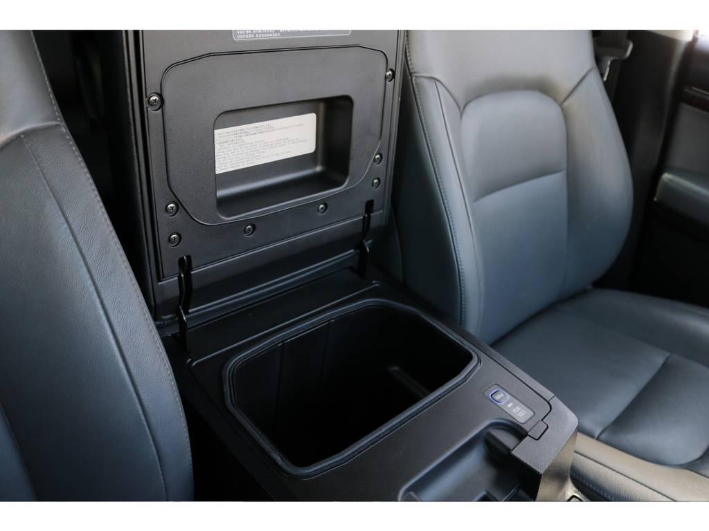 オプションのクールボックス装備!飲み物を冷やす等、お使い頂けます! | トヨタ ランドクルーザー200 4.7 AX Gセレクション 4WD