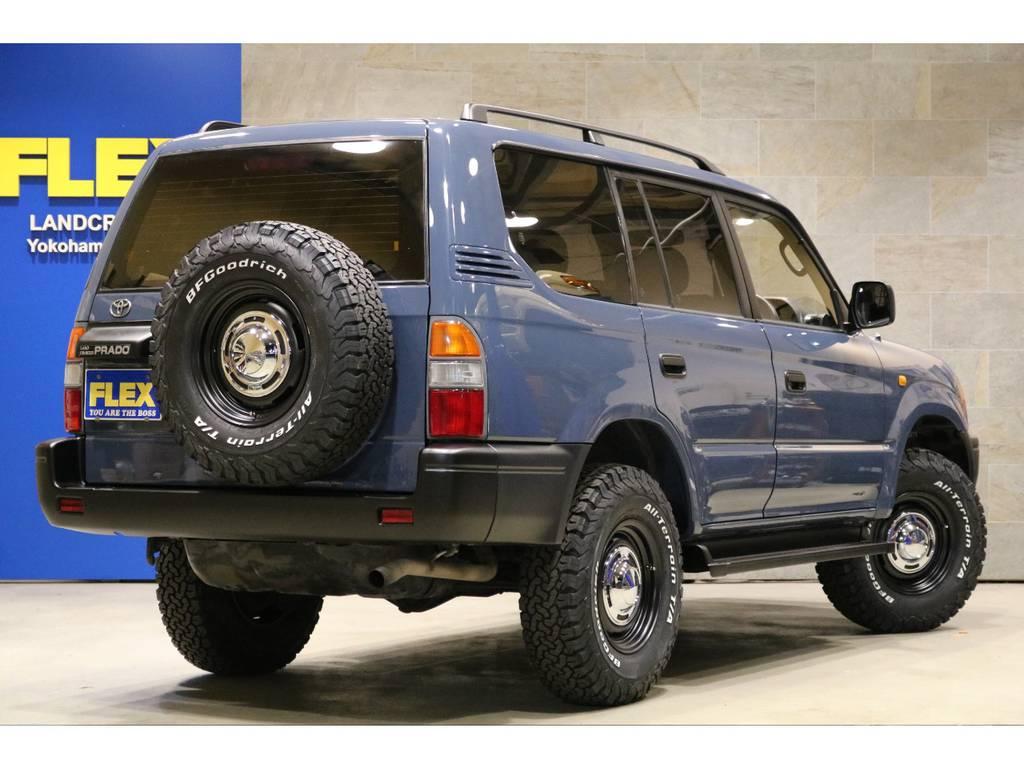 新品社外16インチAW×5本&BFG235AT×5本!ETC車載器!ルーフレール! | トヨタ ランドクルーザープラド 2.7 TX リミテッド 4WD