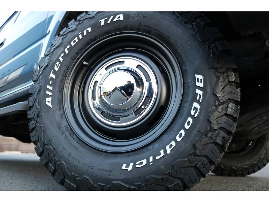 DEAN16インチAW&BFG235ATを新品でインストール! | トヨタ ランドクルーザープラド 2.7 TX リミテッド 4WD
