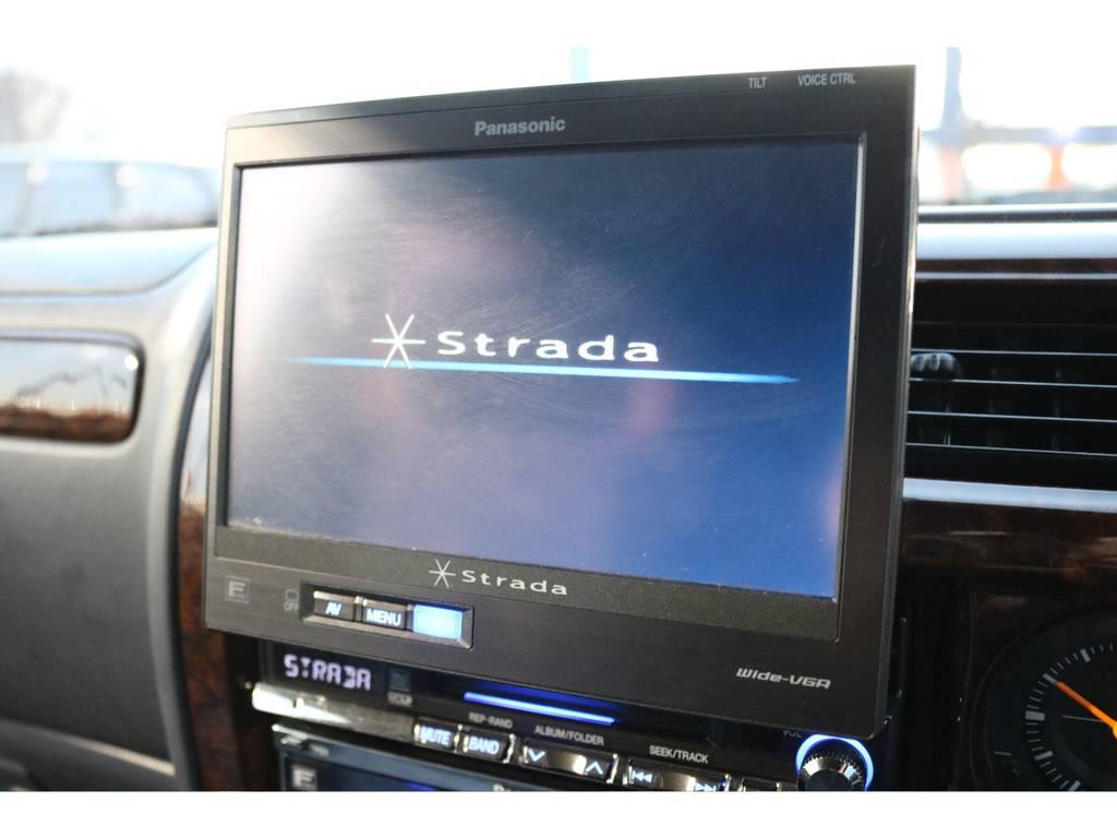 社外HDDナビ&ETC車載器も付いております! | トヨタ ランドクルーザープラド 2.7 TX リミテッド 4WD