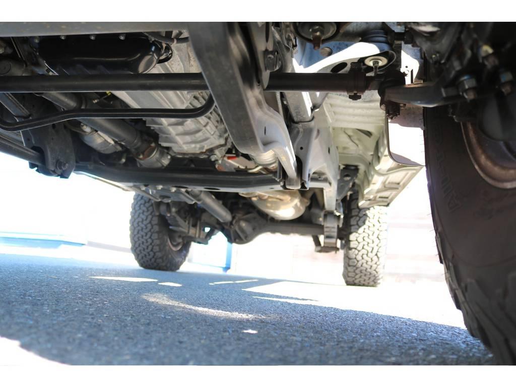 下回りのコンディションも綺麗な状態を維持しております! | トヨタ ランドクルーザー70 4.0 4WD