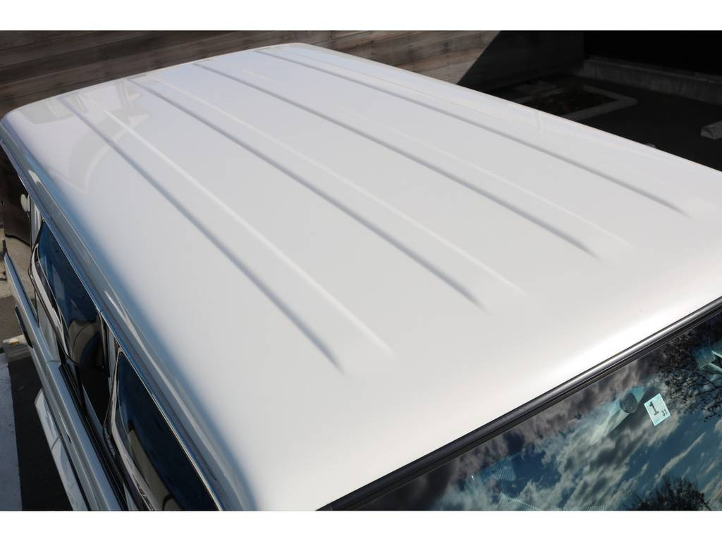 天井もご覧の通り綺麗な状態です! | トヨタ ランドクルーザー70 4.0 4WD