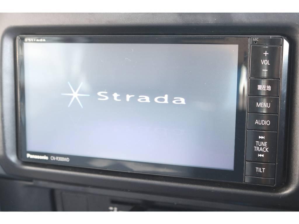 社外SDナビ&ETC車載器&ドライブレコーダーが装着済です! | トヨタ ランドクルーザー70 4.0 4WD