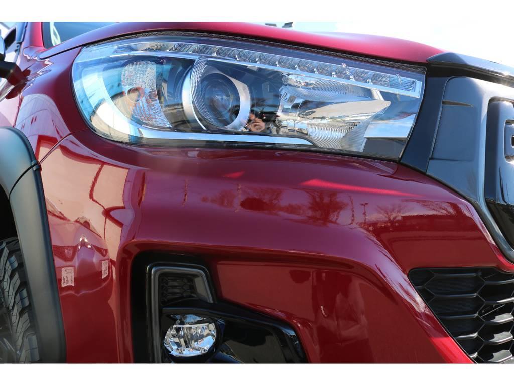 Zグレード専用LEDヘッドランプ&フォグ! | トヨタ ハイラックス 2.4 Z ディーゼルターボ 4WD Z