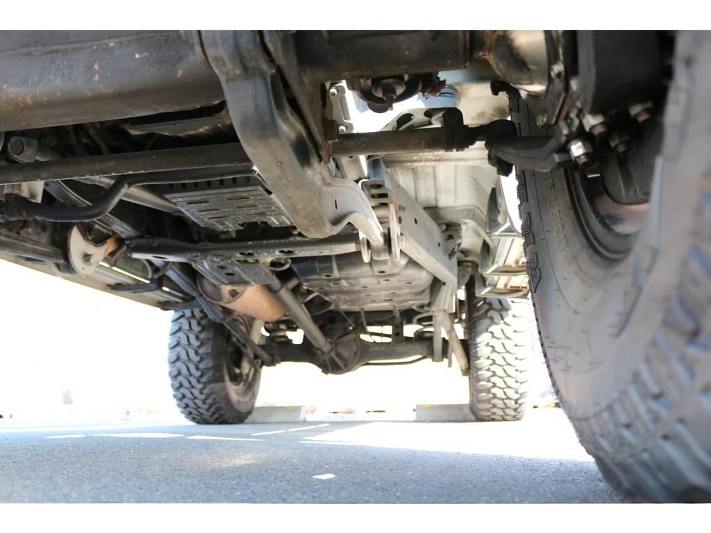 堅牢なラダーフレーム車!腐れも無くしっかりとした状態を維持! | トヨタ ランドクルーザー80 4.5 VXリミテッド 4WD