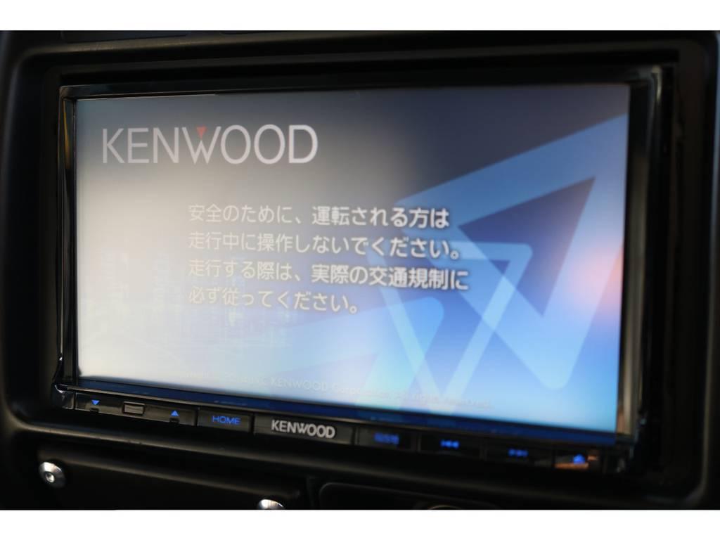 社外SDナビも装着済です!新しいナビやバックカメラを装着等、ご相談下さい! | トヨタ ランドクルーザー80 4.5 VXリミテッド 4WD