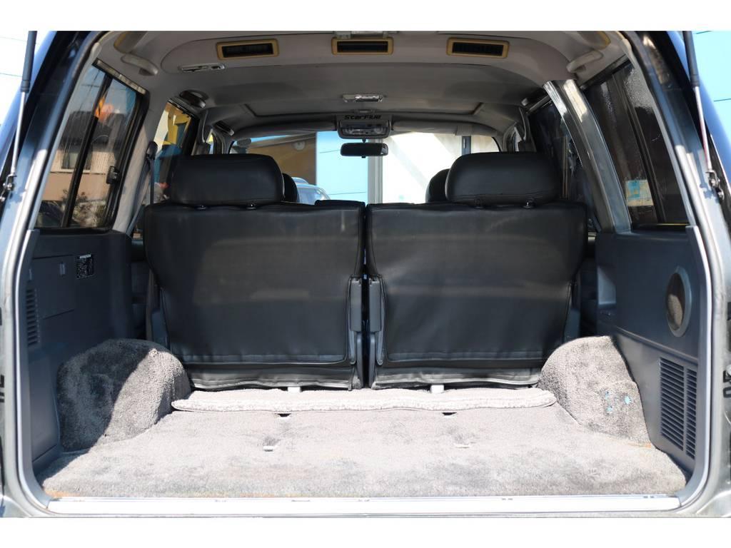 広大なラゲッジスペース!税金の安い1No登録済み車です! | トヨタ ランドクルーザー80 4.5 VXリミテッド 4WD