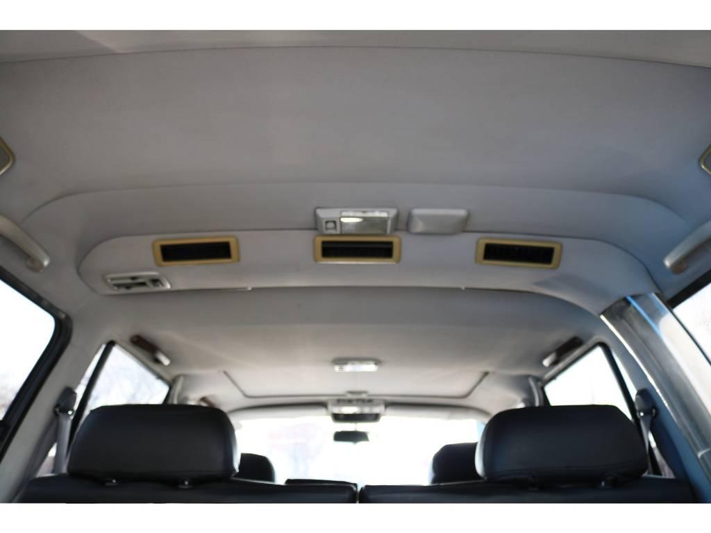 天張りも気になる汚れも見受けられません! | トヨタ ランドクルーザー80 4.5 VXリミテッド 4WD