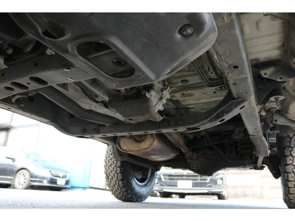 堅牢なラダーフレーム車!劣悪な錆も無く長くお乗り頂けます! | トヨタ ランドクルーザープラド 2.7 TX 4WD TX