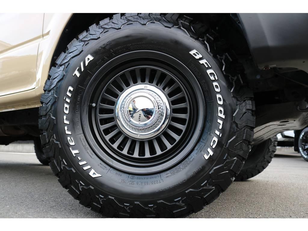 DEANカリフォルニア16インチAW&BFG235ATを新品でインストール! | トヨタ ランドクルーザープラド 2.7 TX 4WD TX