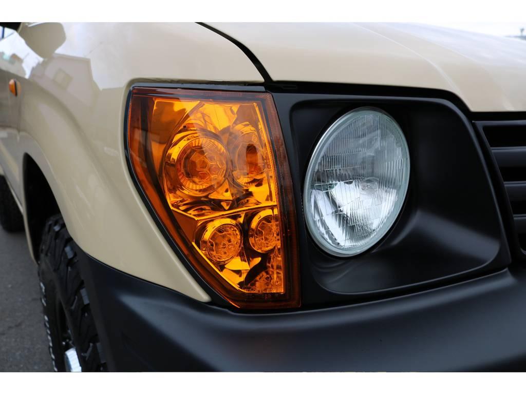 新品オレンジクリスタルコーナーレンズに交換致しました! | トヨタ ランドクルーザープラド 2.7 TX 4WD TX