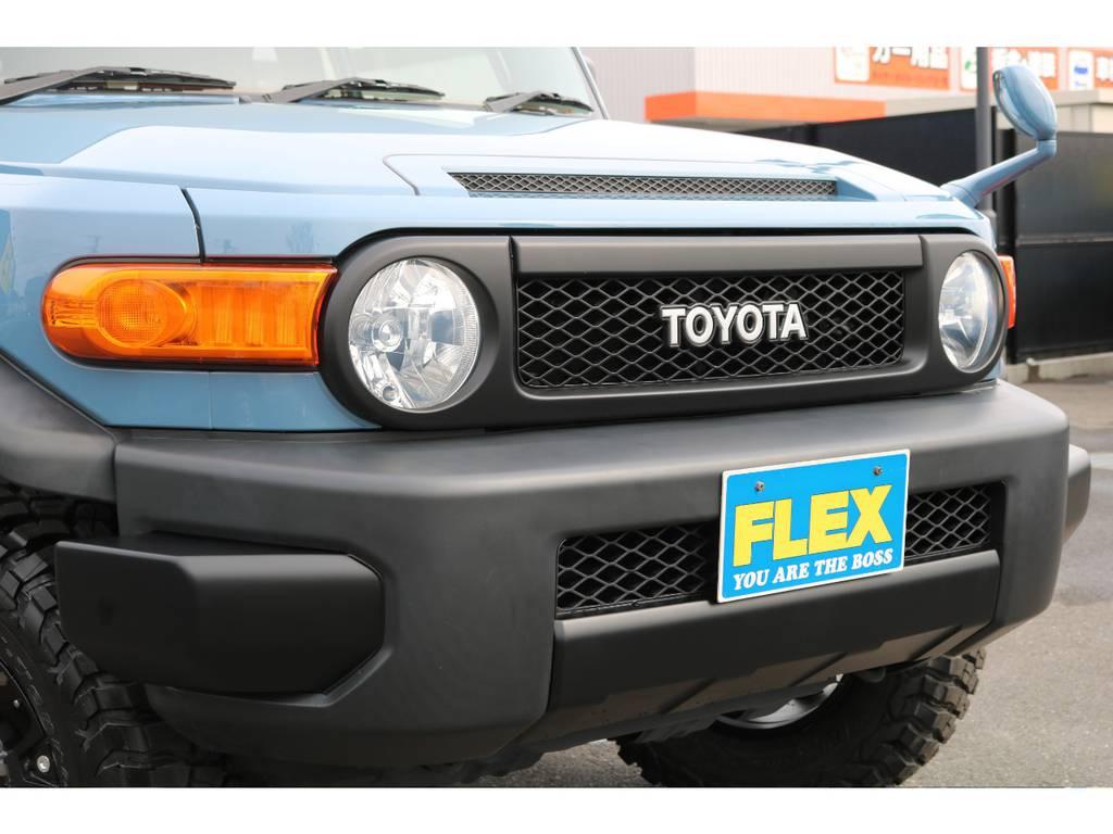各部ブラックアウターパーツを取付し、トレイル仕様に変更致しました!   トヨタ FJクルーザー 4.0 カラーパッケージ 4WD カラーパッケージ