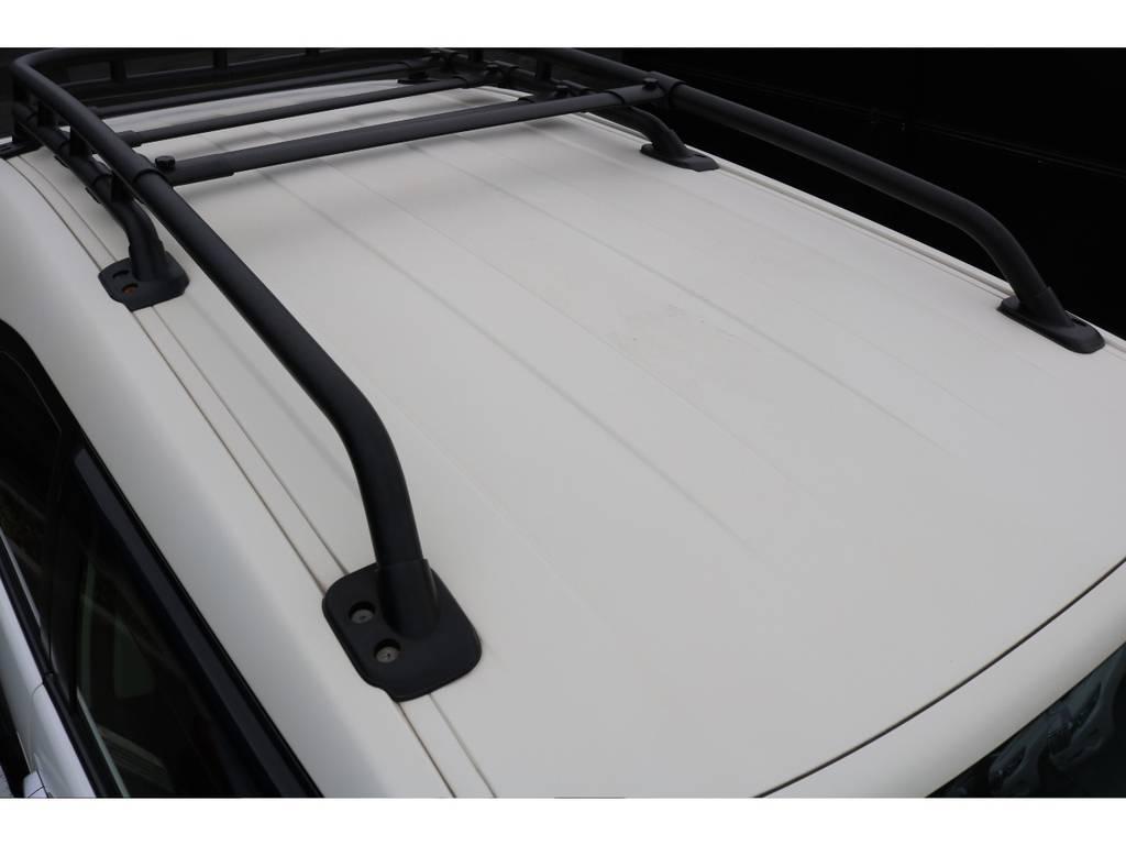 高額USルーフラックが装着された車両!天井もご覧の通り綺麗な状態です! | トヨタ FJクルーザー  ベースグレード