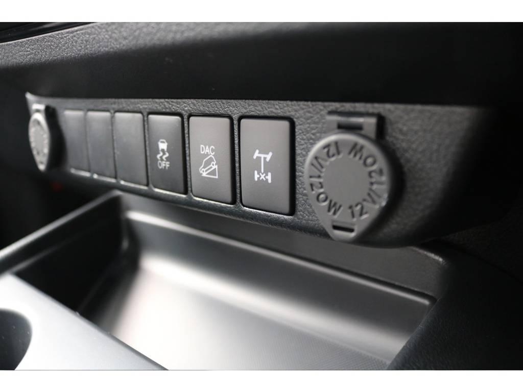 リアデフロック装備車ですので、悪路走破性の高さも特徴! | トヨタ ハイラックス 2.4 Z ブラック ラリー エディション ディーゼルターボ 4WD