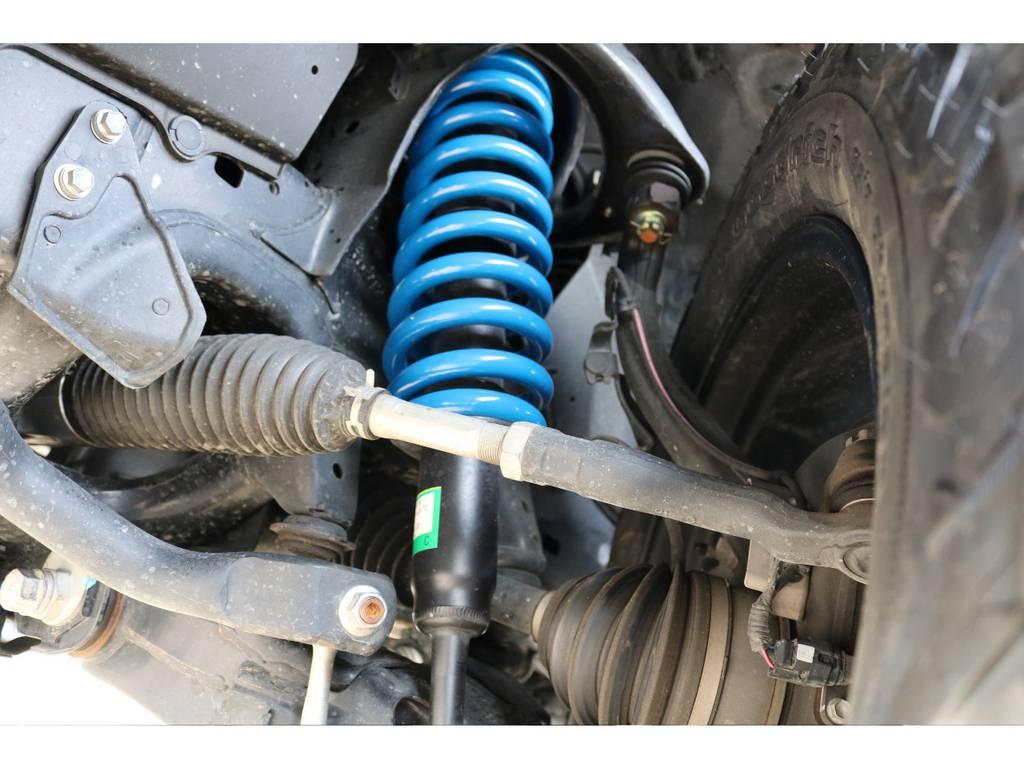 2インチUPコイルに変更し、リフトアップを施工済み! | トヨタ ランドクルーザー200 4.6 AX 4WD