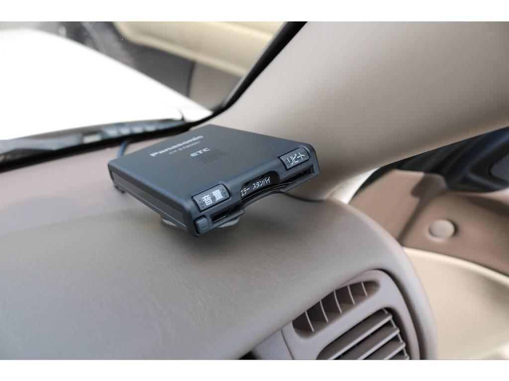 ETC車載器も装備しており、高速道路も楽々です! | トヨタ ランドクルーザー100 4.7 VXリミテッド 4WD
