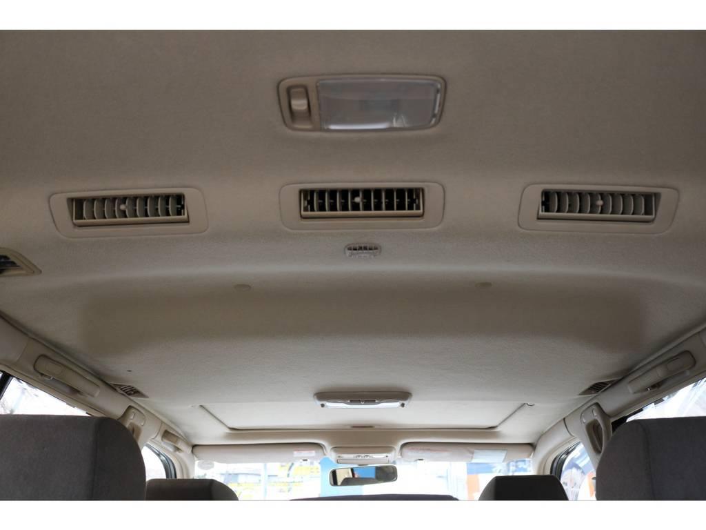 ダブルエアコン車ですので、室内は快適です! | トヨタ ランドクルーザー100 4.7 VXリミテッド 4WD