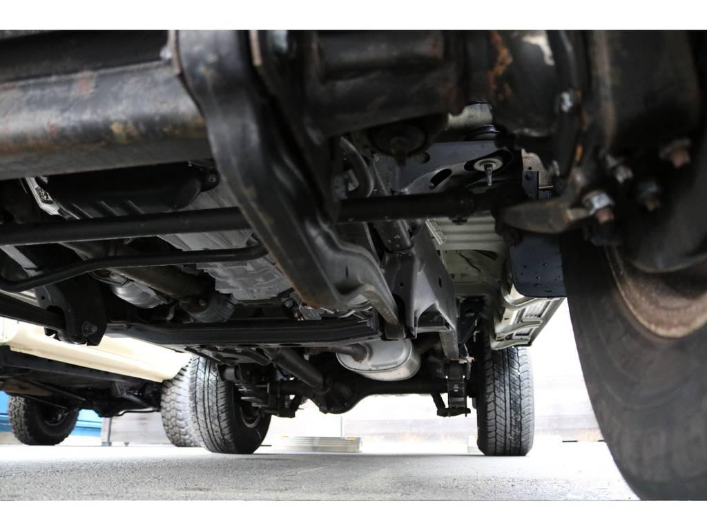 堅牢なラダーフレーム車!劣悪な錆やダメージも見受けられません! | トヨタ ランドクルーザー70 4.0 4WD