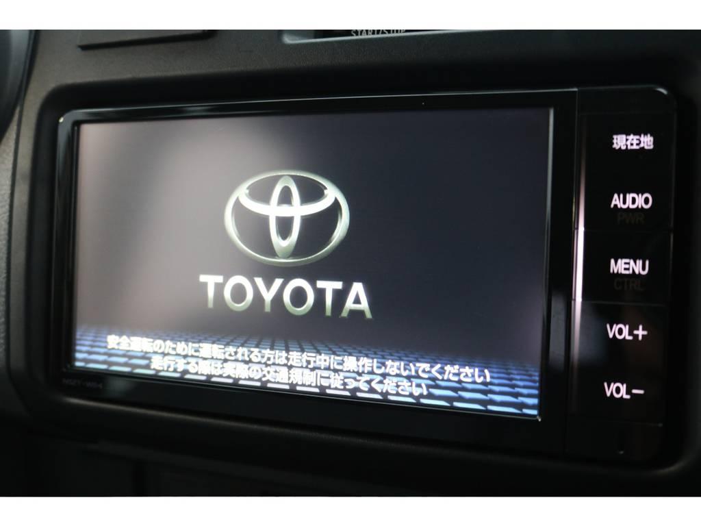 純正SDナビ装備!ドライブレコーダーと、オートアラームも完備! | トヨタ ランドクルーザー70 4.0 4WD