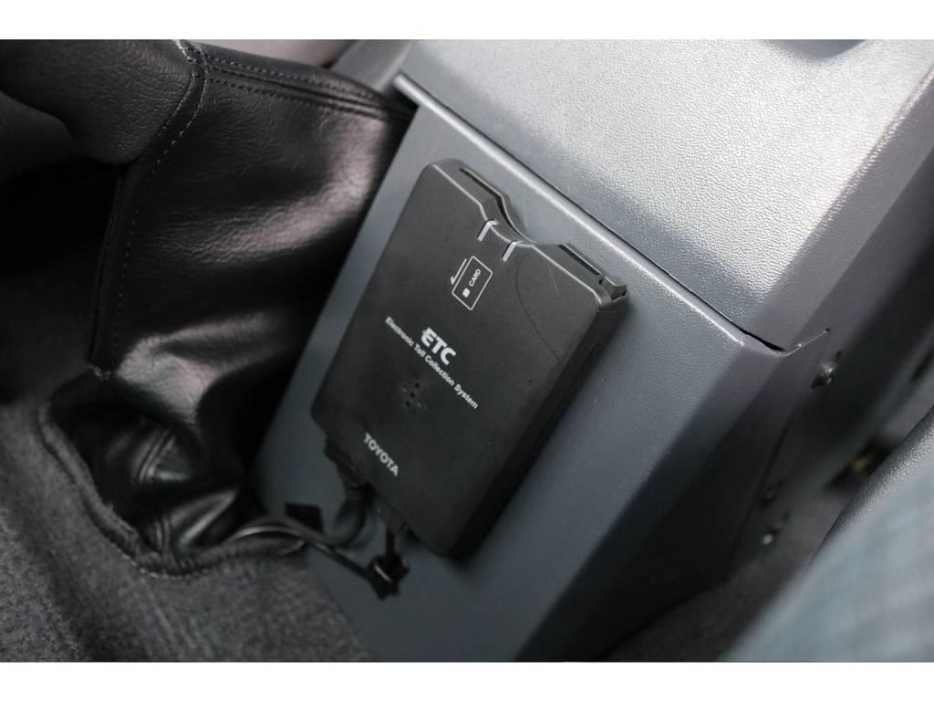 ETC車載器も完備!高速道路も楽々です! | トヨタ ランドクルーザー70 4.0 4WD