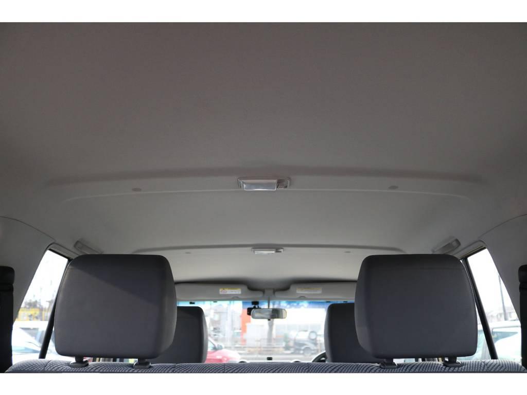 天張りに気になる汚れもありません!キレイなままですよ! | トヨタ ランドクルーザー70 4.0 4WD
