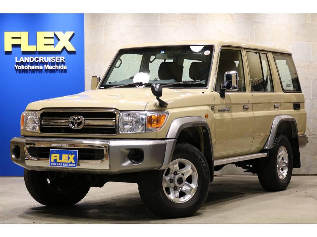再販モデルのランクル76!1オーナー車&低走行1万キロ!人気のベージュカラー! | トヨタ ランドクルーザー70 4.0 4WD