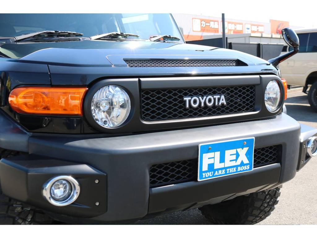 トレイル仕様ブラックアウター化!モデリスタフォグ装備車! | トヨタ FJクルーザー 4.0 オフロードパッケージ 4WD