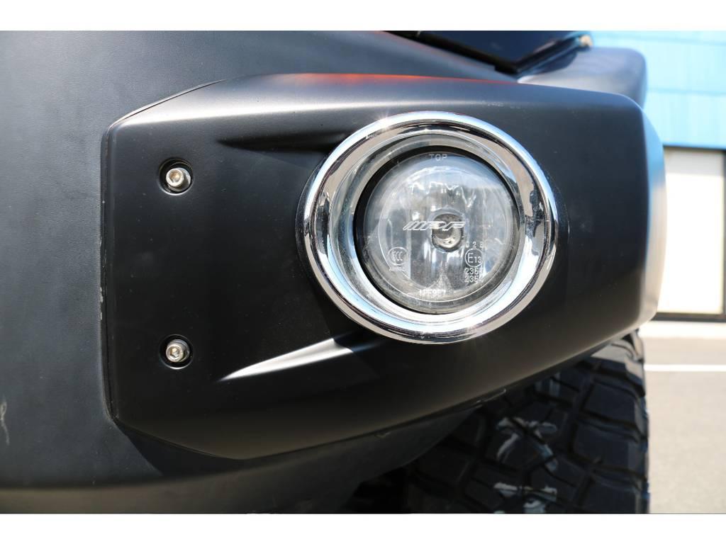 高額なモデリスタフォグ装備!希少なアイテムですよ! | トヨタ FJクルーザー 4.0 オフロードパッケージ 4WD