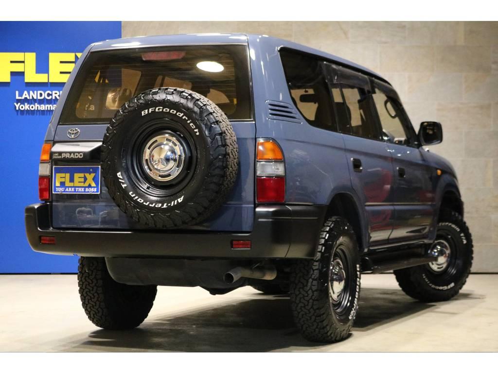 新品社外16インチAW×5本&BFG235AT×5本!ETC車載器!サイドバイザー! | トヨタ ランドクルーザープラド  TZ