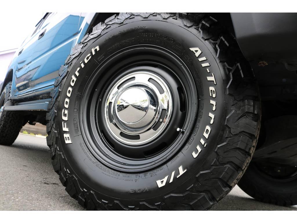DEANクロスカントリー16AW&BFグッドリッチ235ATタイヤ新品でインストール! | トヨタ ランドクルーザープラド  TZ