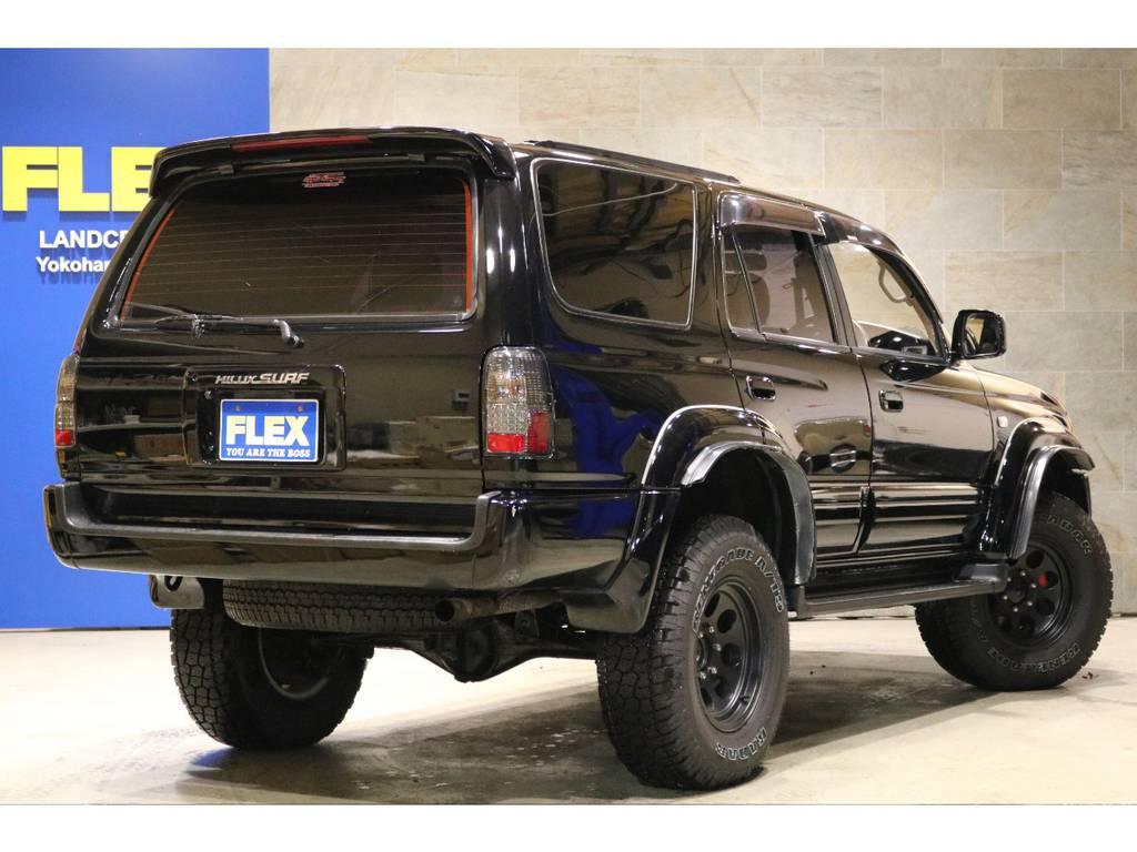 背面レス&リアスポイラー!LEDテールランプ!シートカバー!SDナビ&Bカメラ&ETC! | トヨタ ハイラックスサーフ 2.7 SSR-V ワイドボディ 4WD