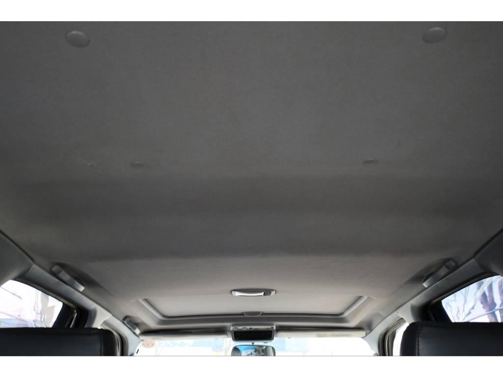 室内の天張りにも、気になるダメージは見受けられません! | トヨタ ハイラックスサーフ 2.7 SSR-V ワイドボディ 4WD