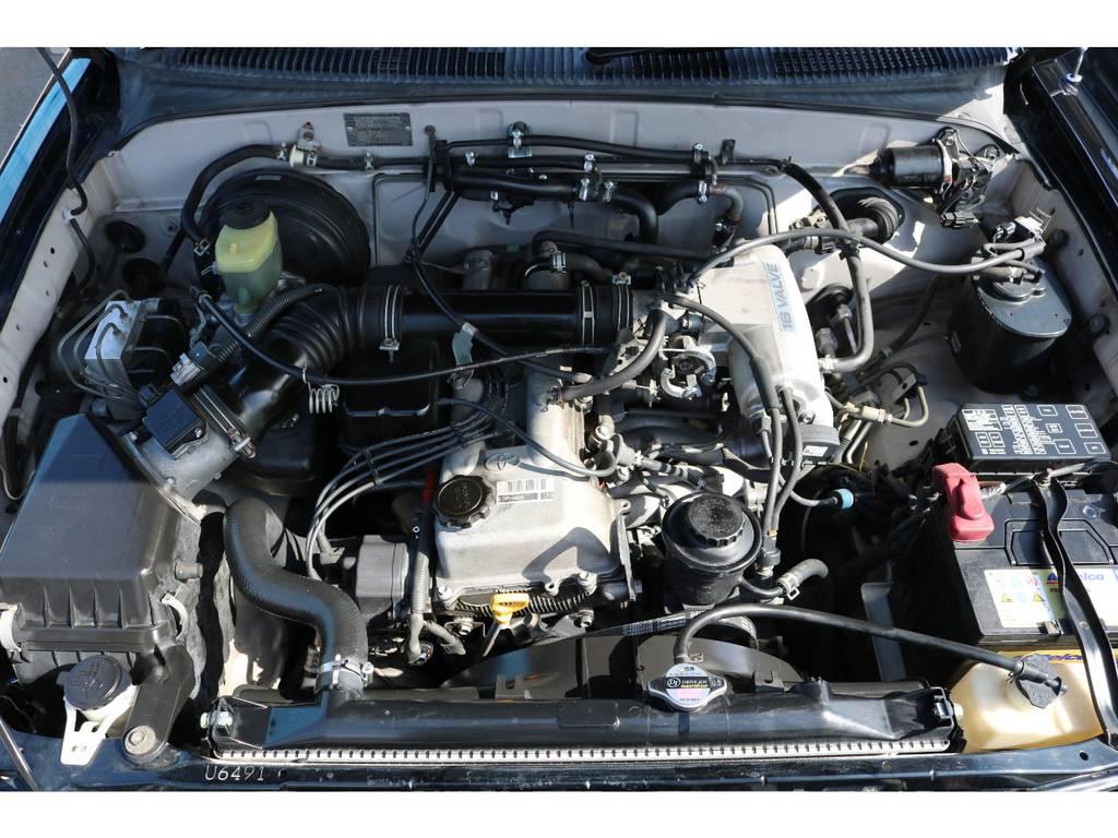 経済性に優れている2700ccエンジン!パートタイム4WD! | トヨタ ハイラックスサーフ 2.7 SSR-V ワイドボディ 4WD