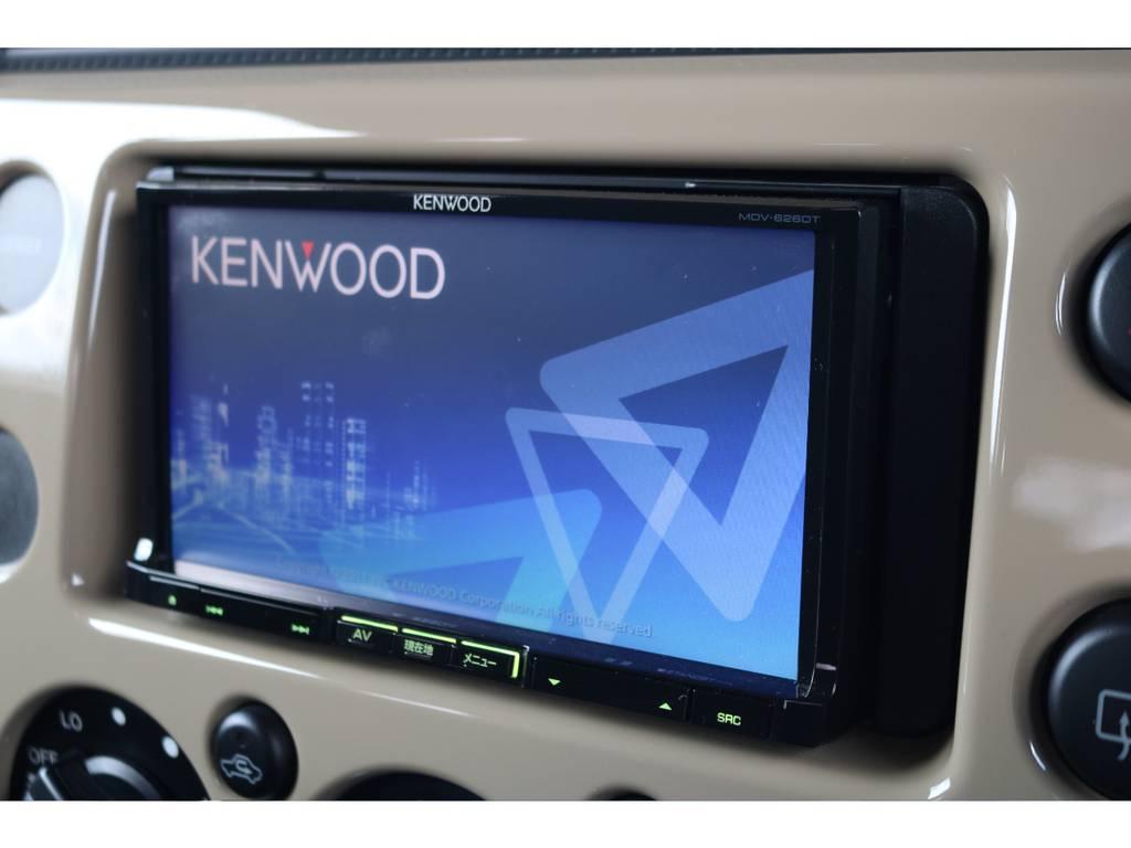社外SDナビインストール済み!ETCも完備しております! | トヨタ FJクルーザー 4.0 カラーパッケージ 4WD