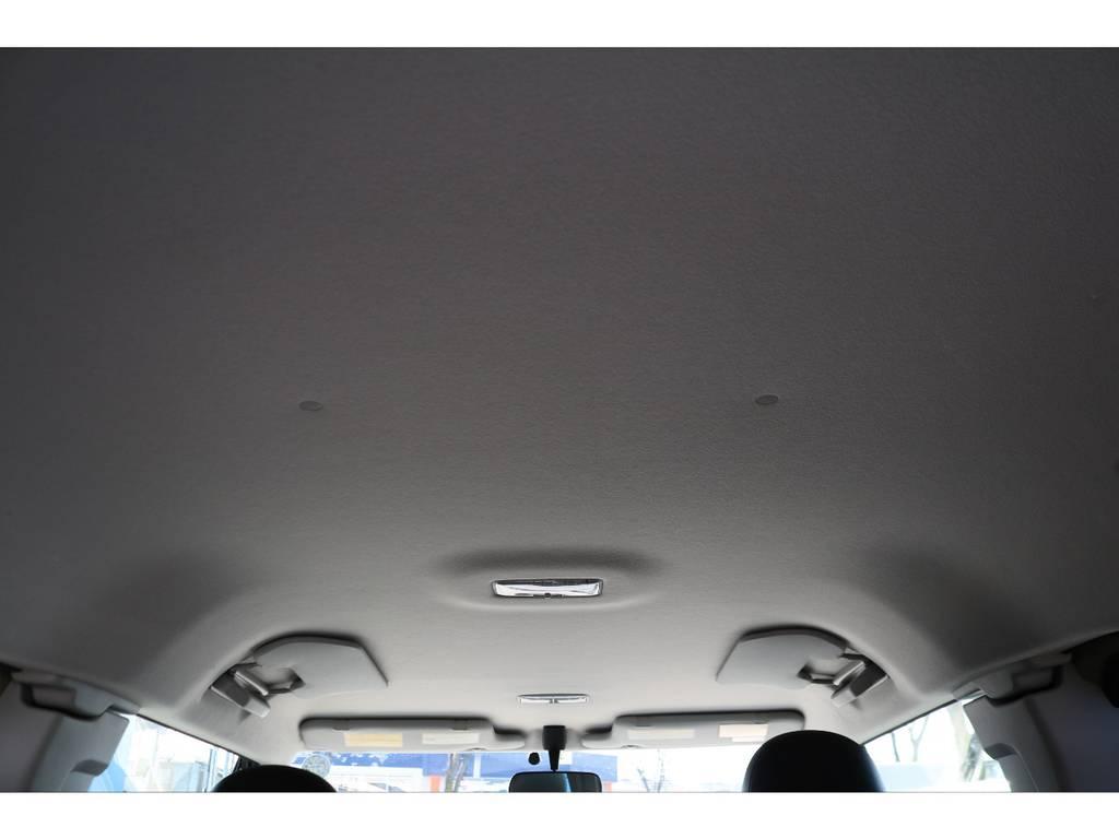 天張りを見ても、気になるダメージは見受けられません! | トヨタ FJクルーザー 4.0 カラーパッケージ 4WD