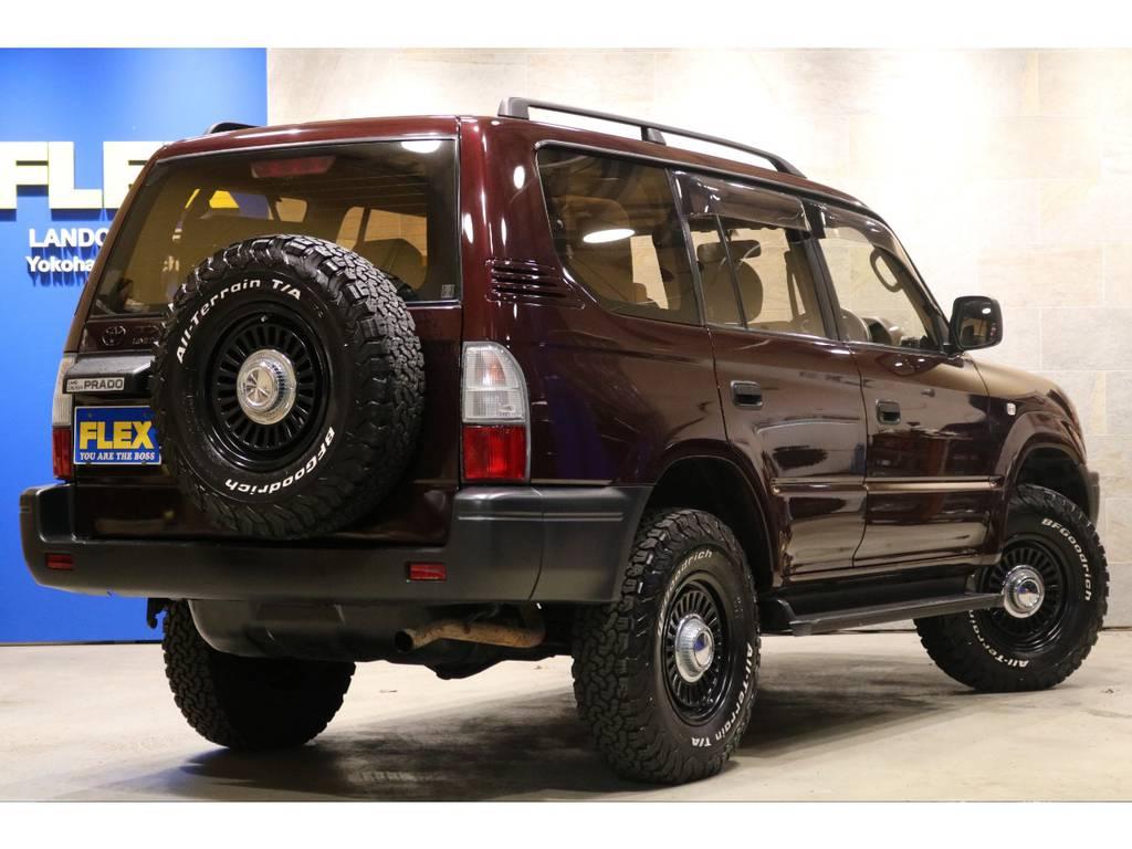 DEANカリフォルニア16AW&BFグッドリッチ235ATタイヤ×5本!カロッツェリアSDナビ! | トヨタ ランドクルーザープラド 2.7 TX リミテッド 4WD