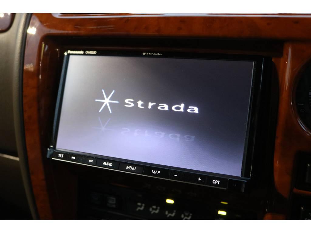 あると嬉しいSDナビ付き!カロッツェリア製で、フルセグ視聴もOK! | トヨタ ランドクルーザープラド 2.7 TX リミテッド 4WD