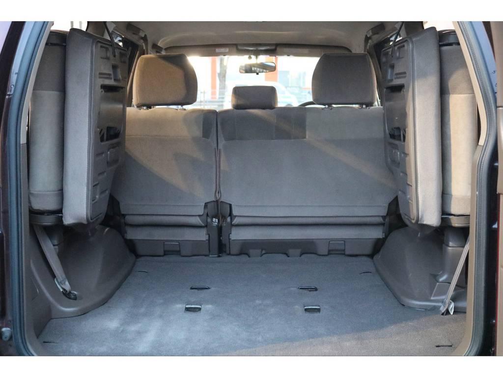 いざと言う時に便利な3列シートの8人乗り! | トヨタ ランドクルーザープラド 2.7 TX リミテッド 4WD