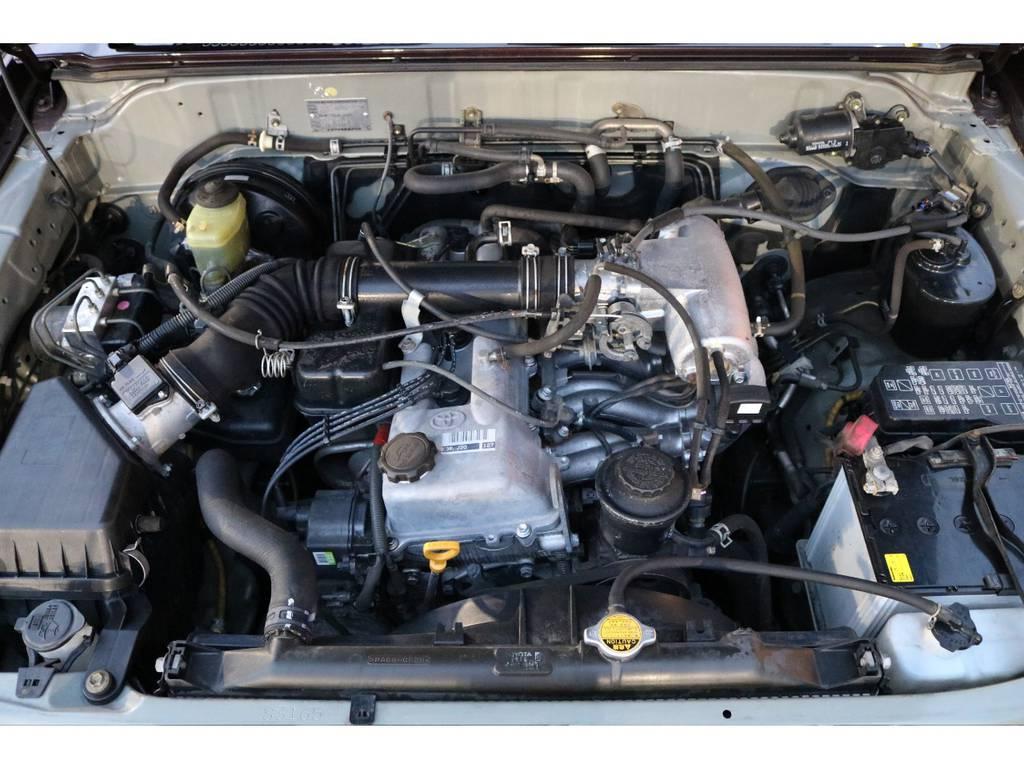 経済性に優れる2700ccエンジンモデル!タイミングチェーン式で、10万キロ時の交換も不要です! | トヨタ ランドクルーザープラド 2.7 TX リミテッド 4WD